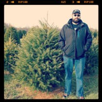 Daniel with Tree