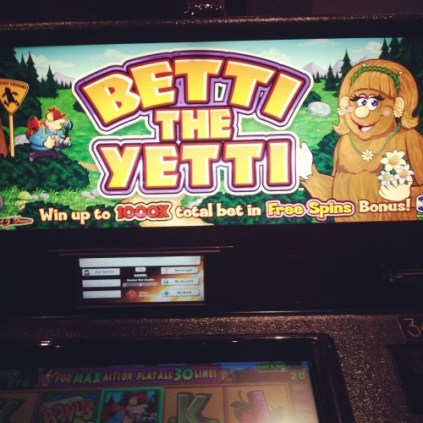 Betti the Yetti