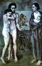 Pablo Picasso blue period, Life