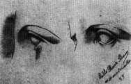 Study of left eye, 1892/1893