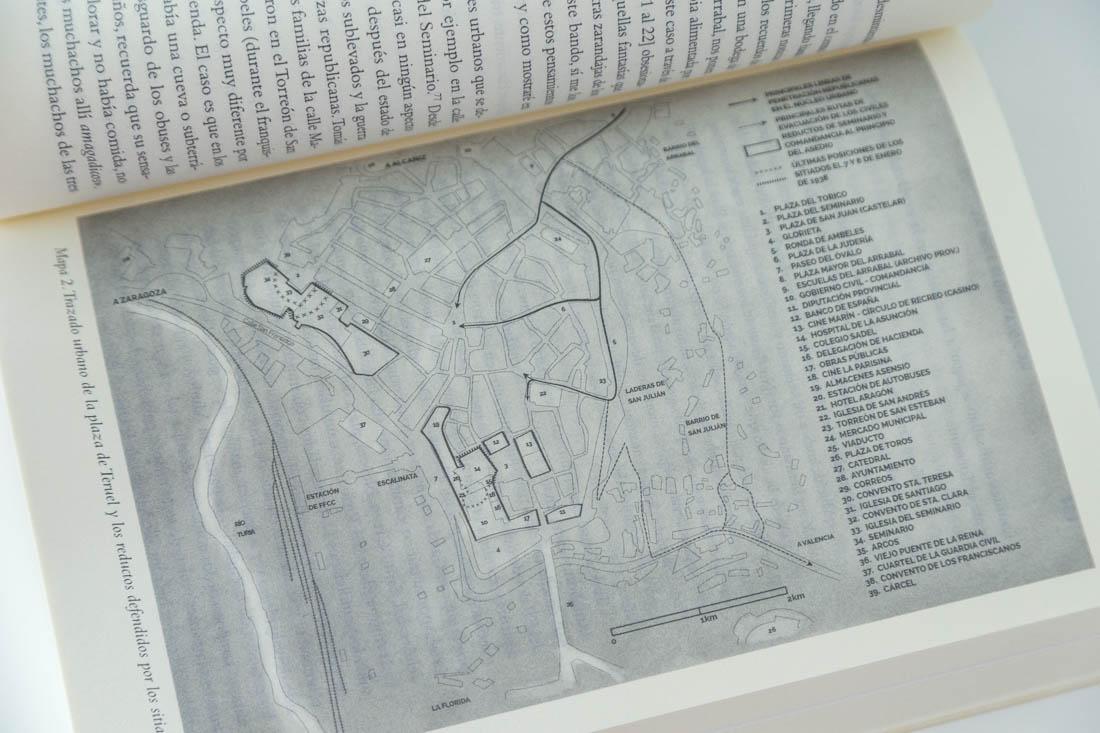 Cartografía para La Batalla de Teruel