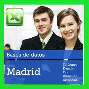 base de datos de empresas de madrid