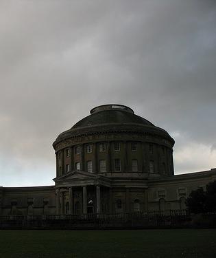 A big dark house