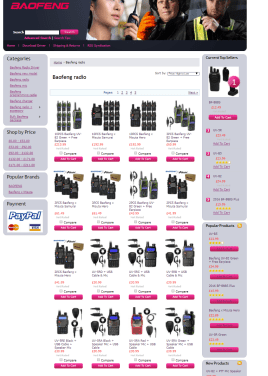 baofeng's messy product line in the uk