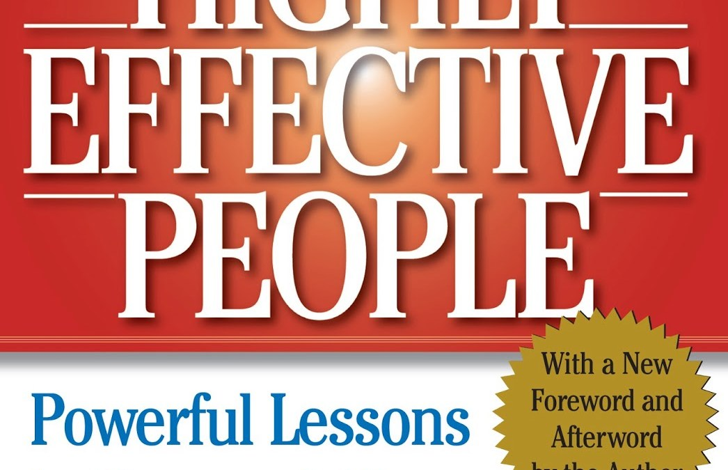 Book Review: The 7 Habits of Highly Effective People: Powerful Lessons in Personal Change by Stephen R. Covey