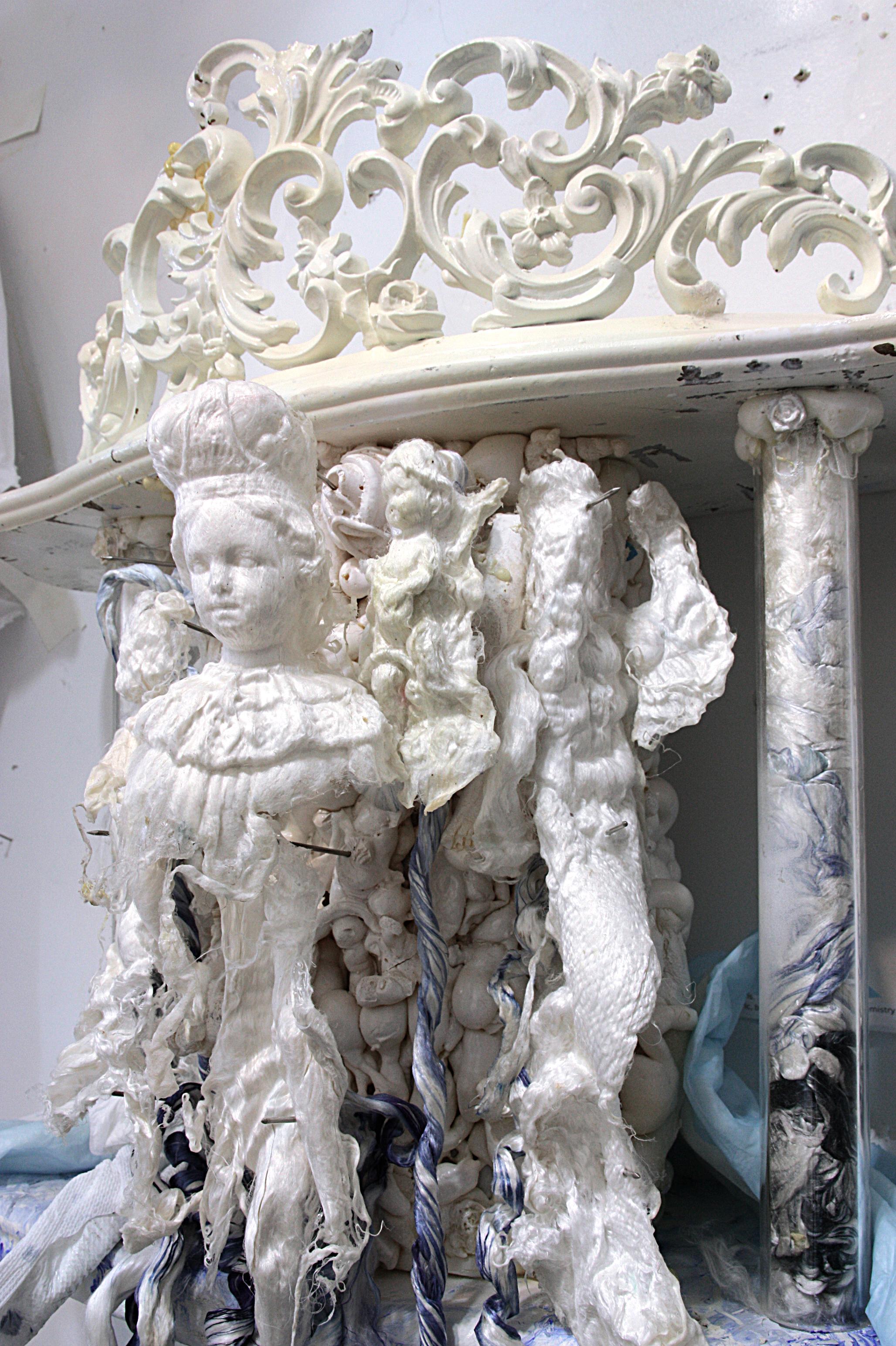 art sculpture baroque punkpablo garcia lopez silk