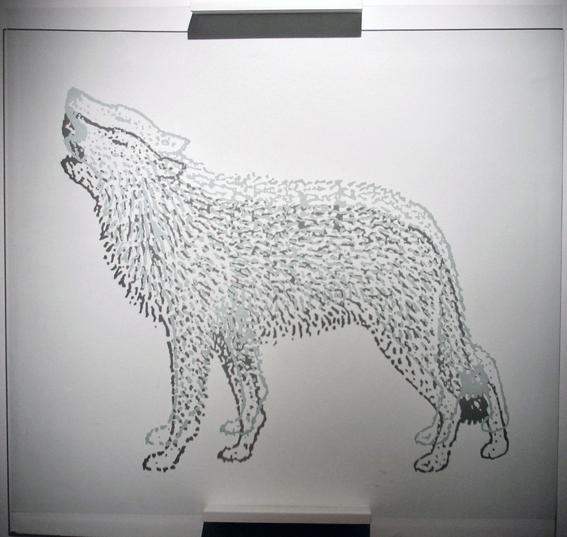Dibujo sobre vidrio  pablolapa
