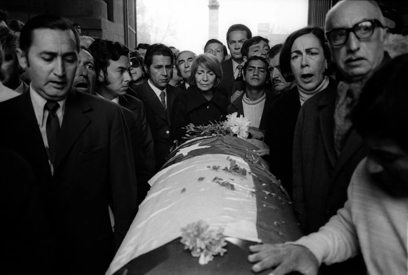 funeral de la muerte de neruda