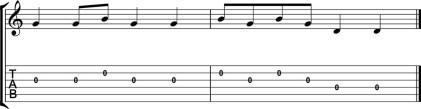 Quinto levanta tablatura y partitura