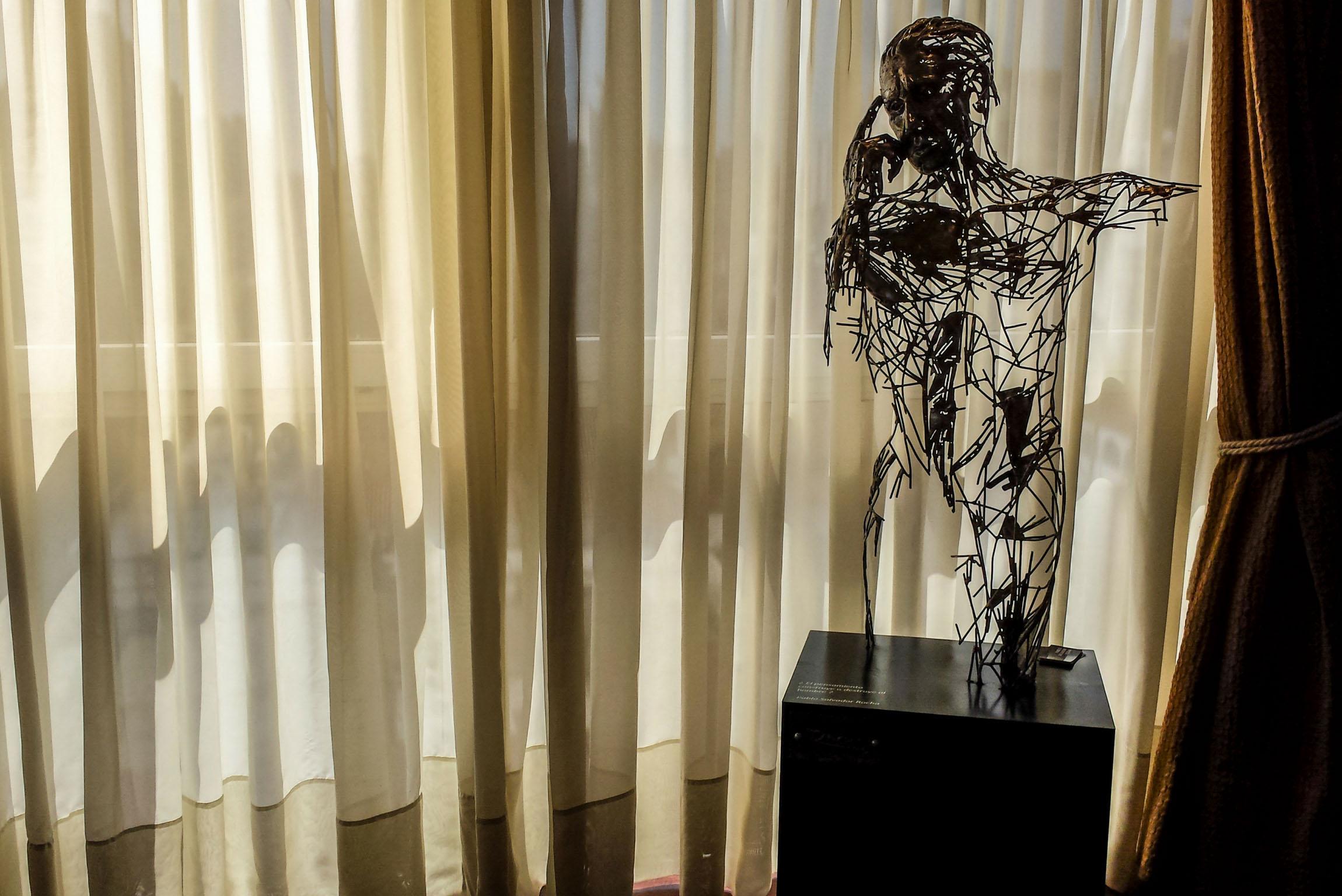 escultura metal pablo salvador rocha