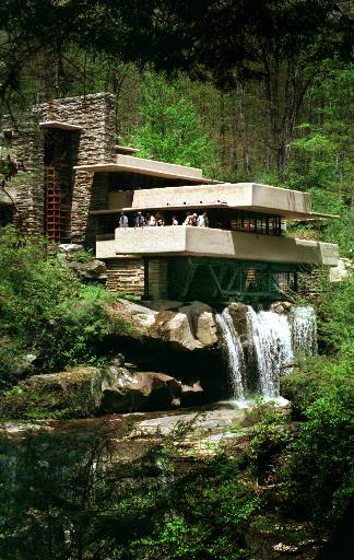 Architectural Brilliance Falling Water  Pennsylvania