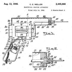 Basic Gun Diagram Of An Atom With Labels A Weapon Technology The Soldering Pennsylvania Center For Patent Weller S