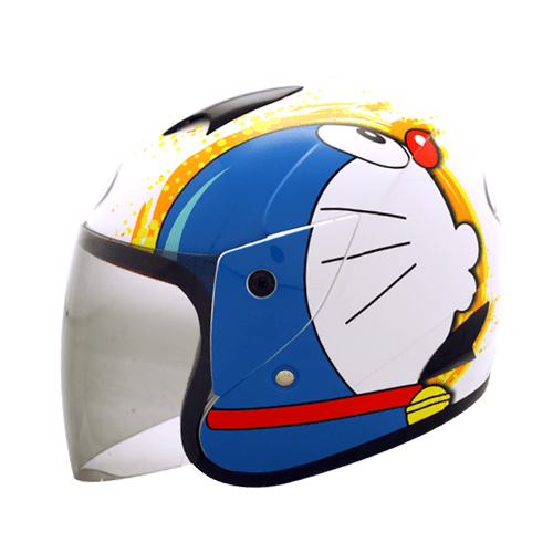 Helm MDS Sport R3 Doraemon  PabrikHelmcom Jual Helm Murah