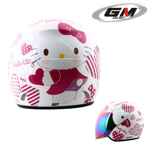 Helm GM Evolution Hello Kitty Seri 7  PabrikHelmcom Jual