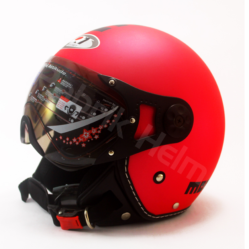 Helm JPN Retro Pilot 06  PabrikHelmcom Jual Helm Murah