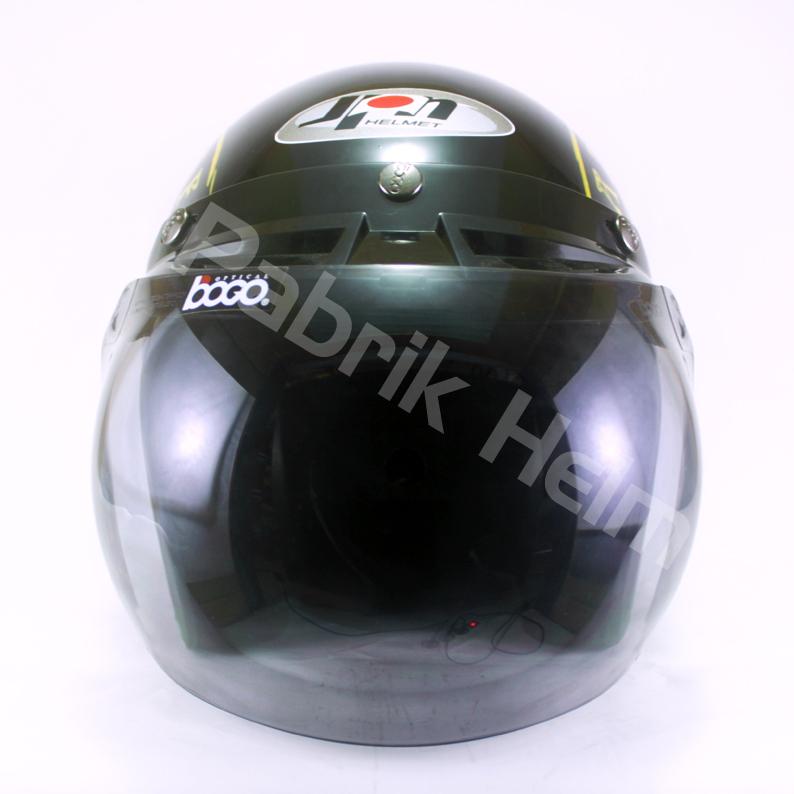 Helm JPN Retro Steadeast Kaca Bogo  PabrikHelmcom Jual