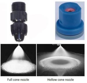 Knapsack sprayer - nozzle kerucut