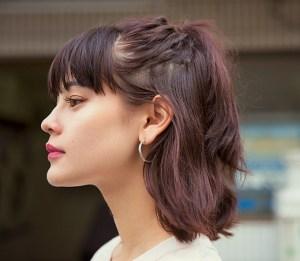 emma(モデル)横顔