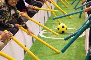 高齢者向け棒サッカー