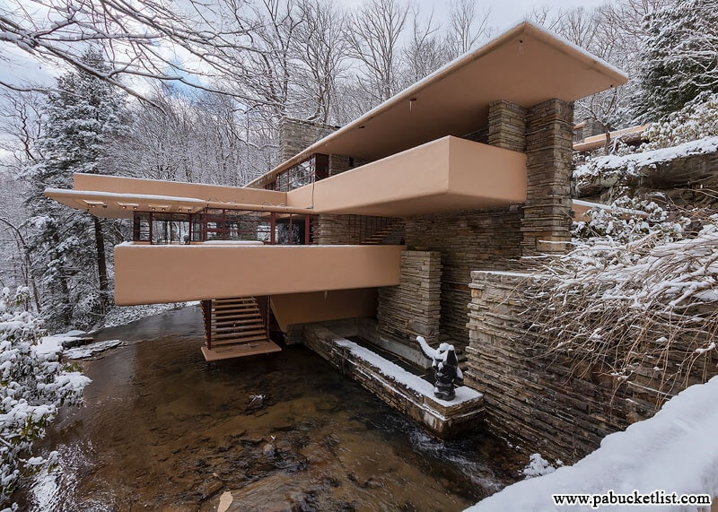 Visiting Fallingwater In The Winter