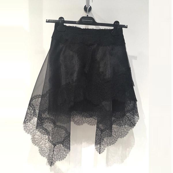 falda mini organza Ermanno Scervino