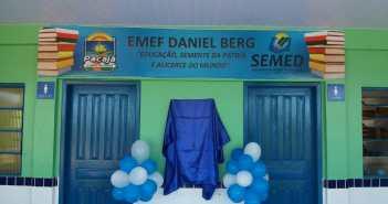 Escola Municipal de Ensino Fundamental Daniel Berg é inaugurada pela Gestão Fé, Coragem e Determinação Mais Qualidade na Educação do Município de Pacajá