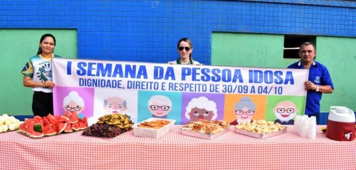Semana do idoso é comemorada com bastante afinco no município de Pacajá