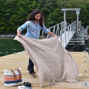 2016 Maine Alpaca Blanket