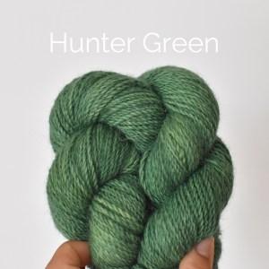 Hunter Green Hand Dyed Hank