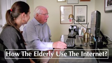 Photo of Infographic: How The Elderly Use The Internet?
