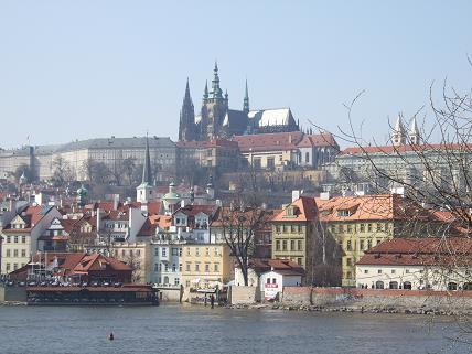 Prague Castle From Afar