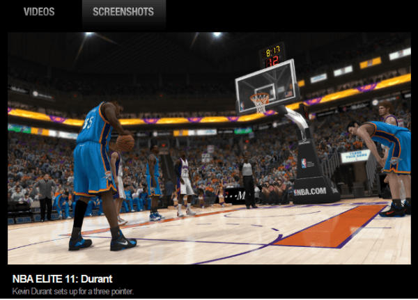 NBA 2K11 or NBA Elite 2011 About Writing The Personal