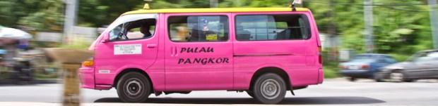 Palau Pangkor taxi