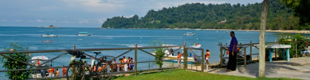Beach on Palau Pangkor