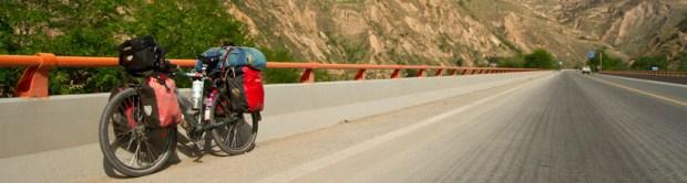 Nice road towards Xining