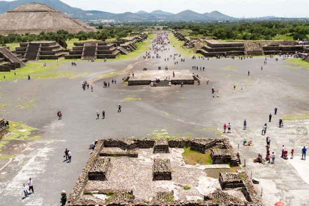 Teotihuacan from Pyramid of the Moon