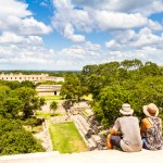 Overlooking Uxmal