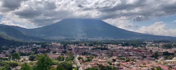 View from Cerro de la Cruz