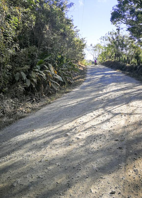 Tough hill