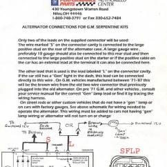 Ac Delco Alternator Wiring Diagram Old Fashioned Acdelco Rj45 Socket Serpentine Sbc