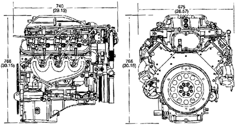 Ls1 Engine Dimensions, Ls1, Free Engine Image For User