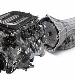 chevrolet performance parts cpslt4w8l90e gm lt4 640hp wet sump engine with 8l90e 8  [ 1500 x 901 Pixel ]