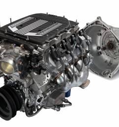 chevrolet performance parts cpslt44l75ew cruise package lt4 650hp wet sump engine w 4l75e [ 1500 x 977 Pixel ]