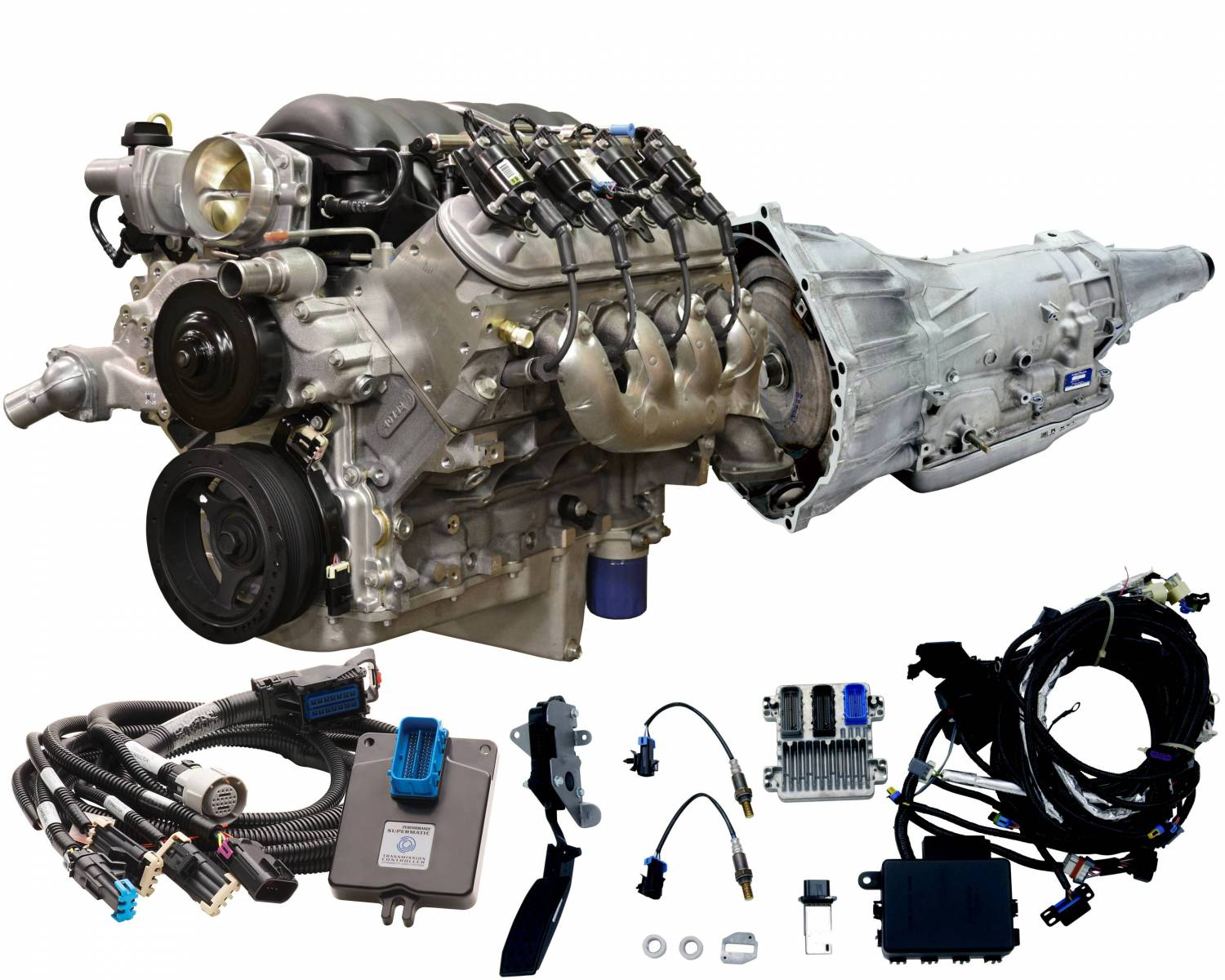 hight resolution of chevrolet performance parts cpsls34l65e connect cruise ls3 430hp 4l65e trans 500 00