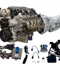 chevrolet performance parts cpsls3764804l70e cruise package ls3 495hp engine w 4l70e 2wd trans [ 1500 x 1200 Pixel ]