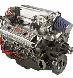 chevrolet performance parts 19417619 gm ram jet 350 crate engine [ 1500 x 1125 Pixel ]