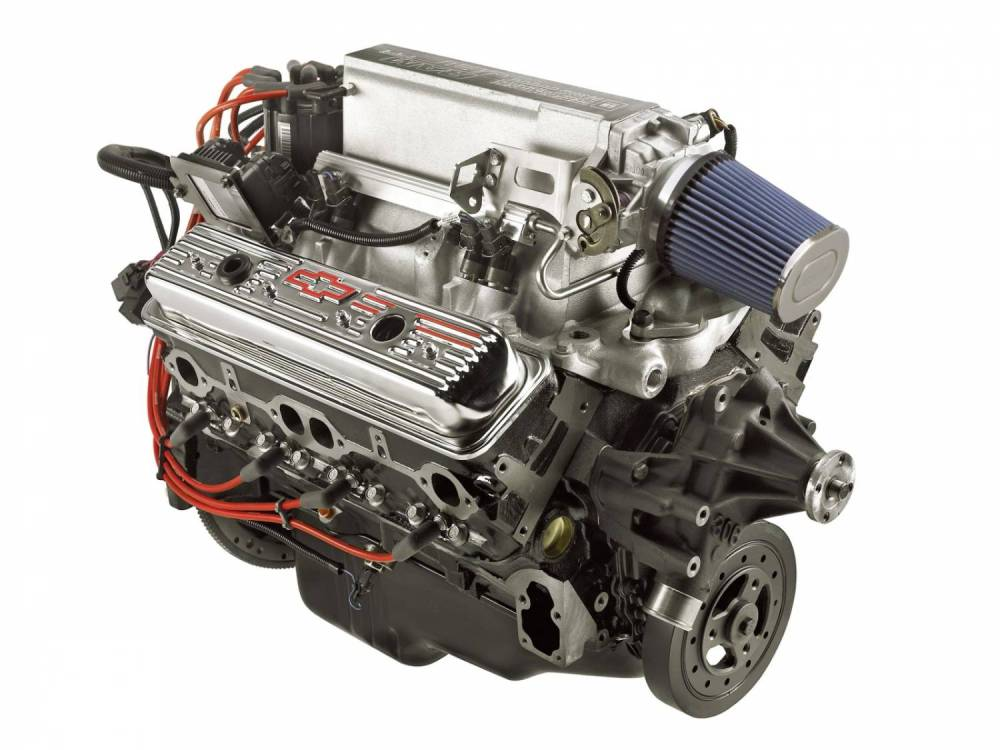 medium resolution of chevrolet performance parts 19417619 gm ram jet 350 crate engine