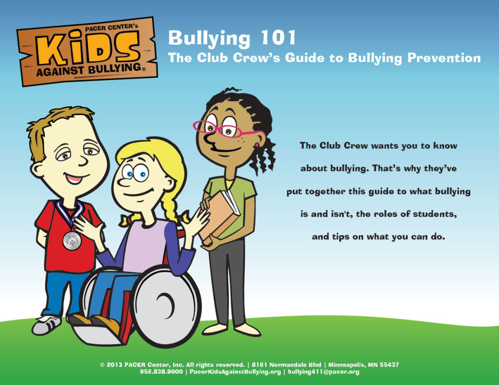Bullying 101 The Club Crew S Guide To Bullying Prevention