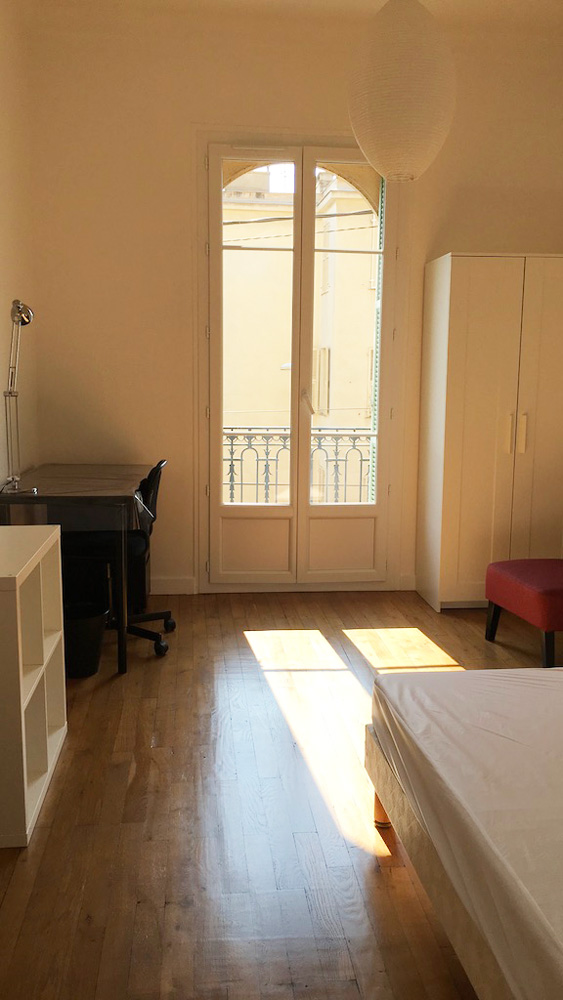 chambre logement étudiant externe à l'écurie médecine PACES+ nice