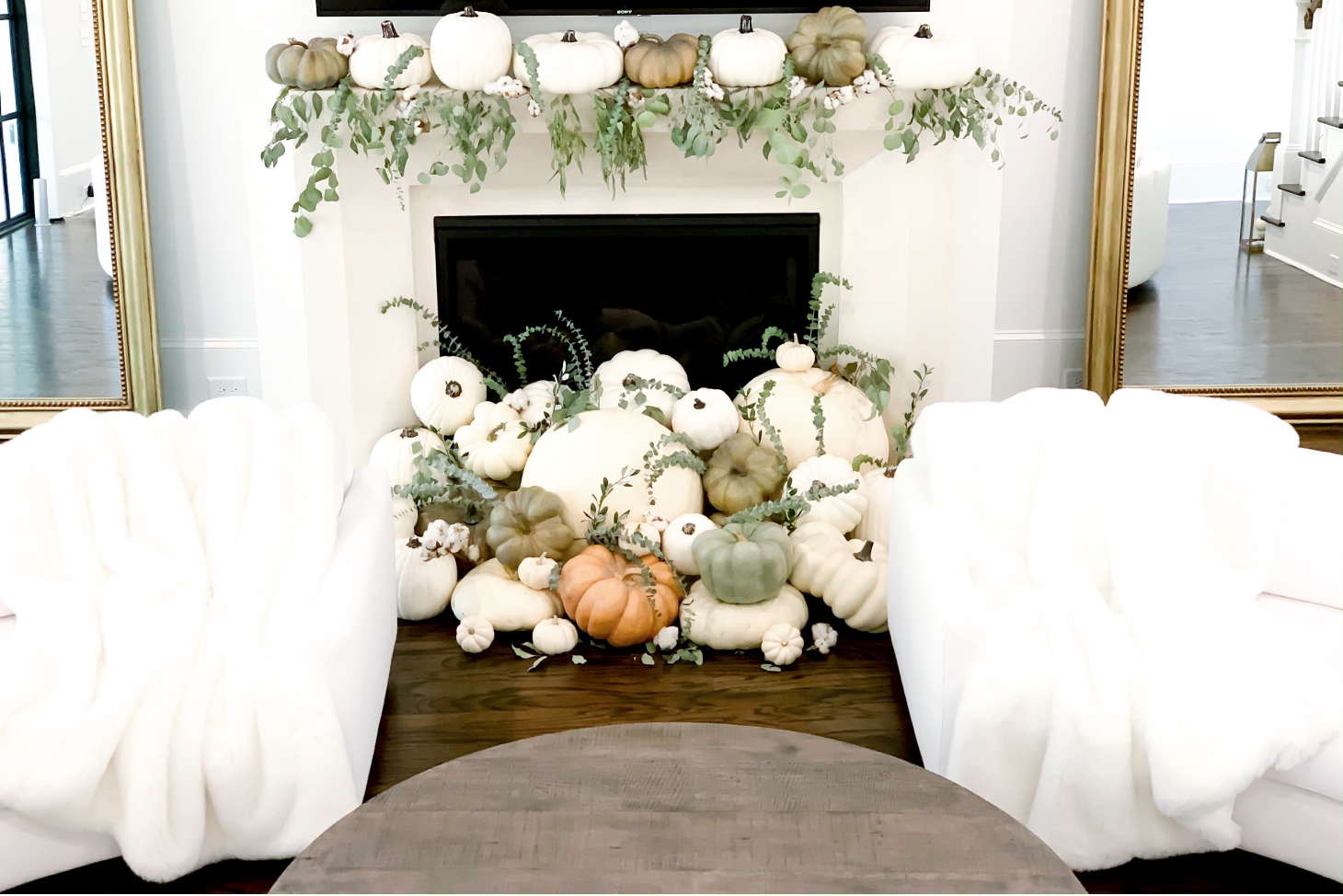 harvest fall décor